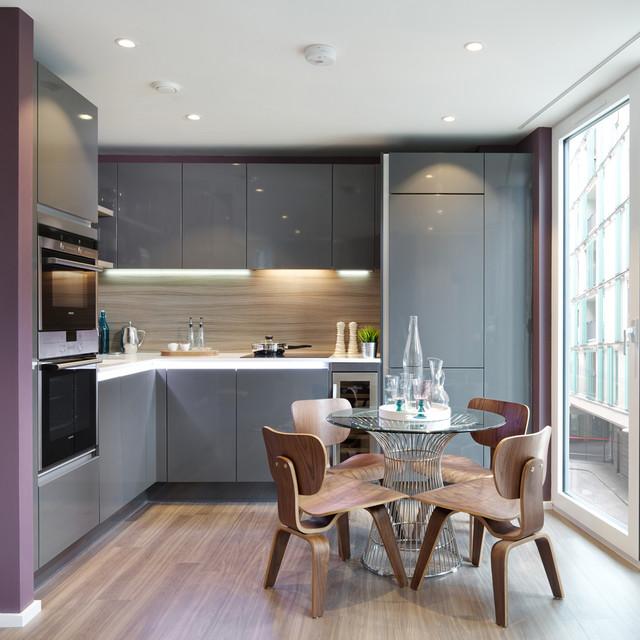 The filaments contemporary kitchen london by suna for Suna interior design