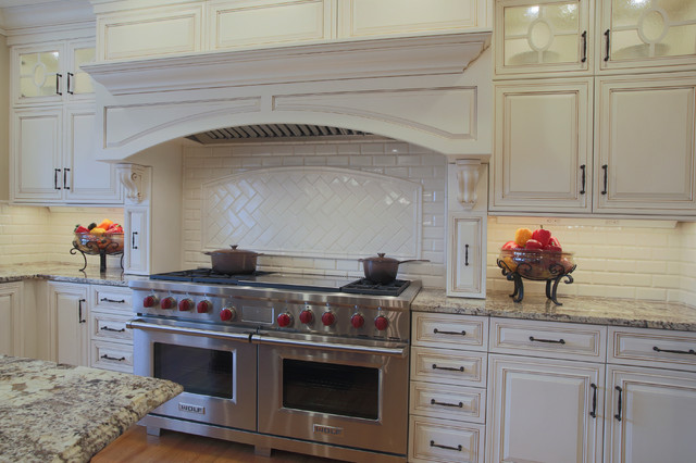 The Flume Kitchen Amherst Traditional Kitchen Manchester By Granite State Cabinetry