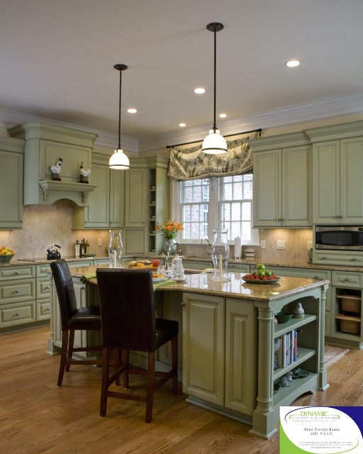 The foster residence traditional kitchen wilmington by dynamic kitchen and interiors for Dynamic kitchen design interiors