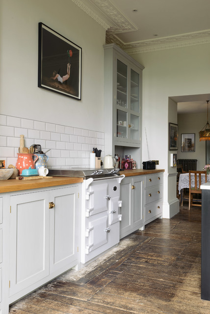 The Frome Kitchen by deVOL eclectic-kitchen