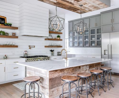 How to style a farmhouse kitchen