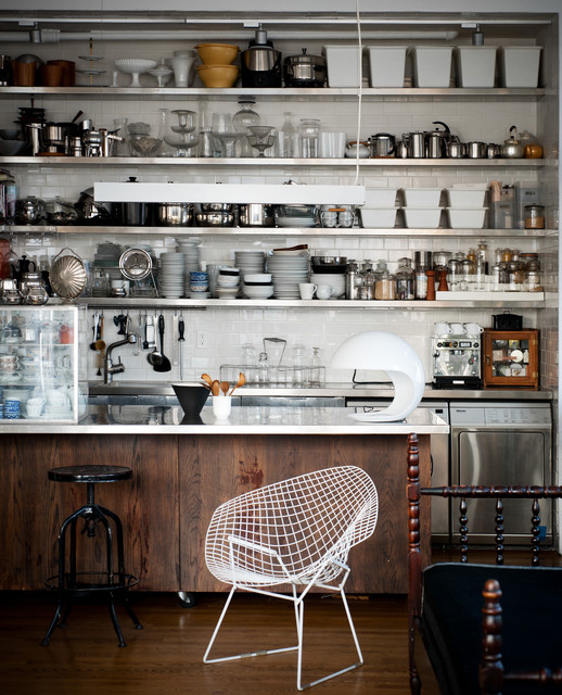 The Glass Farmhouse Loft Industrial Kitchen other metro by Kit Republic