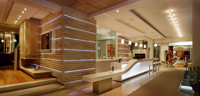 Interior Designers & Decorators. The Glass House contemporary-kitchen