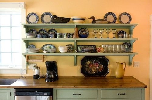 Open Shelving - Pros & Cons