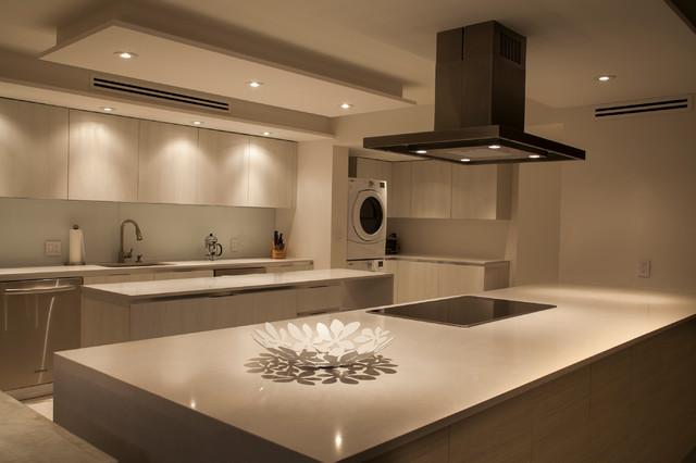 The Grove Isle Apartment - Modern - Kitchen - miami - by Update Design