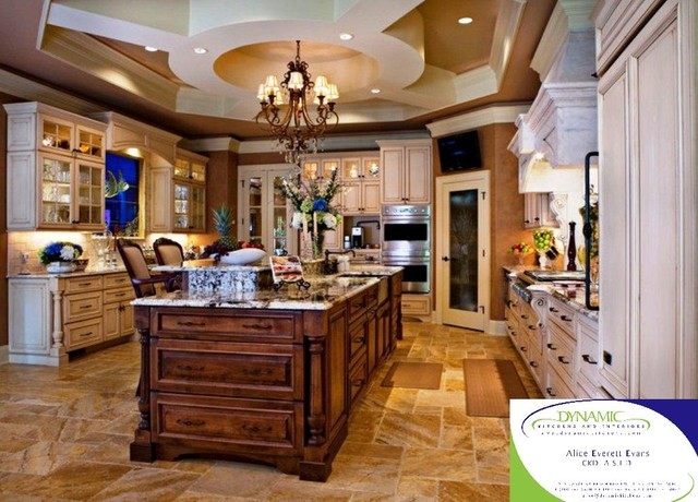 The Gurley Residence - mediterranean - kitchen - wilmington - by