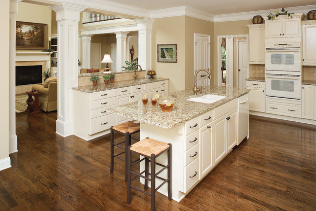 The Hartford - Plan #1048 traditional-kitchen