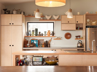 The Haven Contemporary Kitchen Auckland By Strachan Group Architects