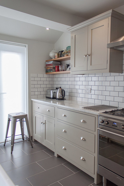 The Hither Green Shaker Kitchen By Devol Contemporary