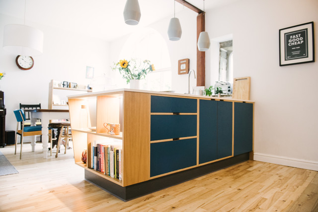 The Hobbs Bespoke Plywood Kitchen With