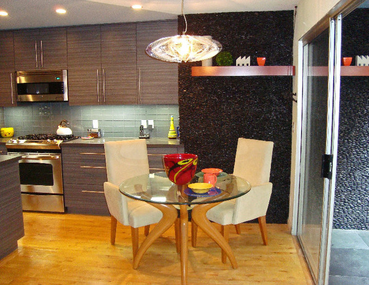 The Hoffman Kitchen Remodel in a West Hollywood Condo