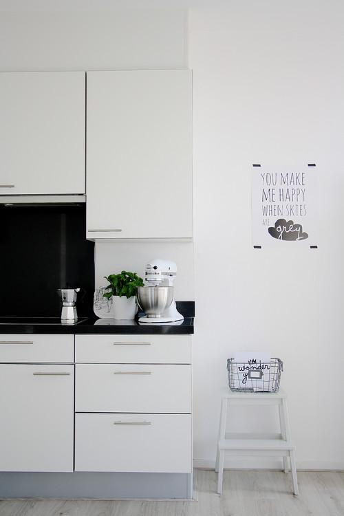 Cucina Bianca e Nera, Un Classico da Tenere Sempre a Mente