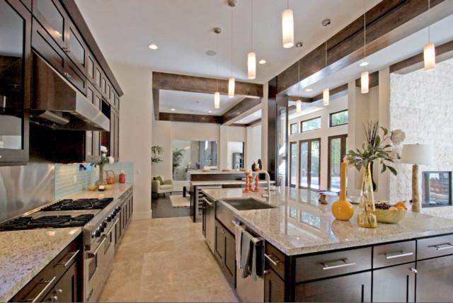The Italian Job - Contemporary - Kitchen - los angeles - by Sheriff Architecture Studio