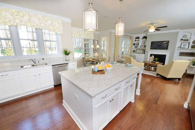 The Jimmy Homeplan Traditional Kitchen Raleigh By