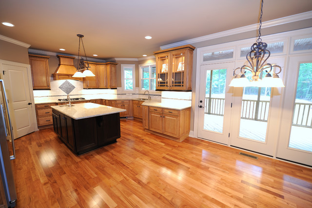The kingston place traditional kitchen raleigh by for Kitchen design kingston