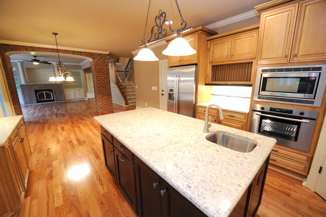 The Kingston Place traditional-kitchen