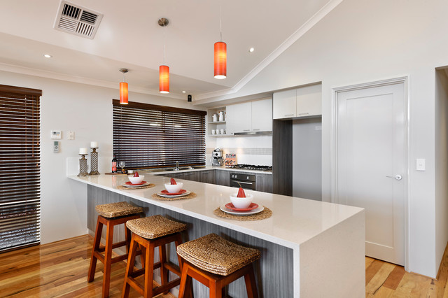 The Kingston contemporary-kitchen