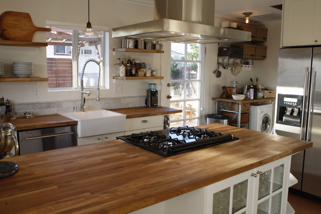 Http Www Houzz Com Photos 203259 The Kitchen In A Recent Remodel Of A 100 Year Old Craftsman Bungalow Contemporary Kitchen Los Angeles