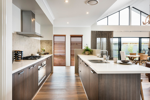 The Kitchen The Ferguson Retreat Rural Building Company Contemporary Kitchen Perth By
