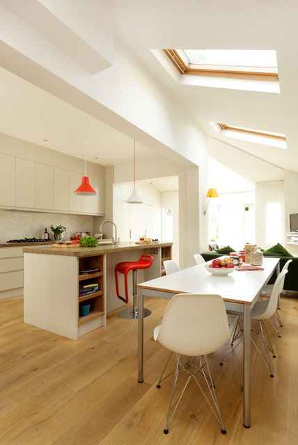 Contemporary kitchen wimbledon london contemporary for Kitchen ideas london