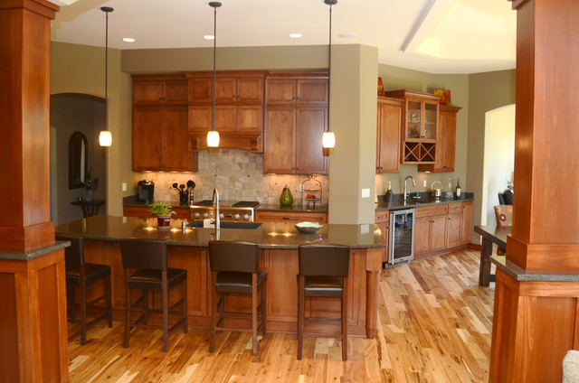 The Lakovich Home traditional-kitchen