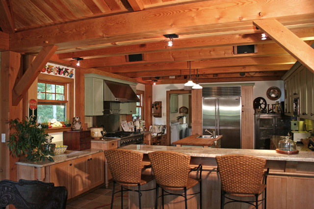 The Laurel traditional-kitchen
