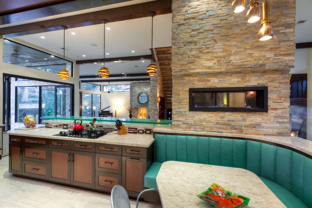 The Leblanc Cox Residence Contemporary Kitchen