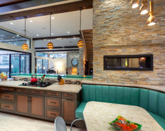 The LeBlanc-Cox Residence contemporary-kitchen