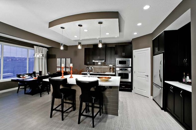 The Leera In Sherwood In NW Calgary AB Contemporary Kitchen Calgary