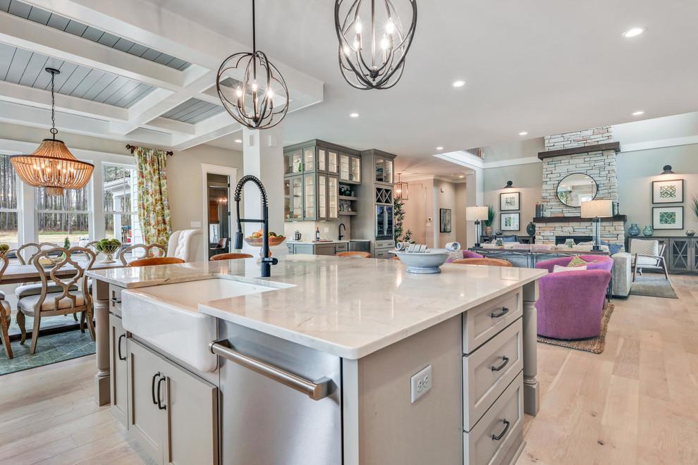 The Lena Craftsman Kitchen Richmond By Craftmaster Homes