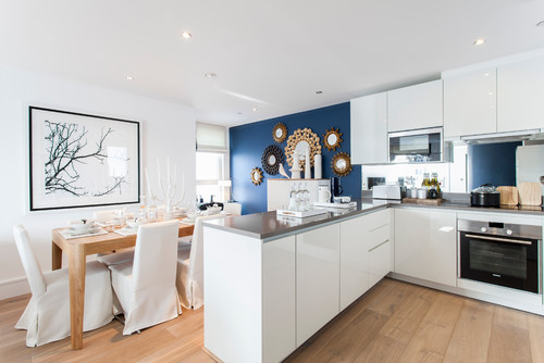 Contemporary Kitchen by London Photographers Chris Snook