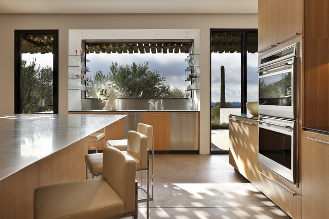 The Logan Residence Modern Kitchen Phoenix By The Construction Zone Ltd