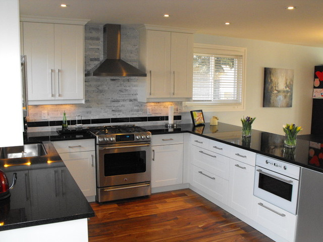 The Luck of the Irish contemporary-kitchen