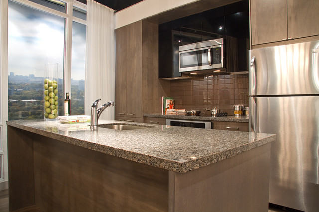 The Madison W2C modern kitchen cabinets