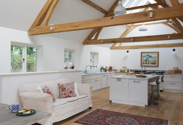 The Manor House transitional-kitchen