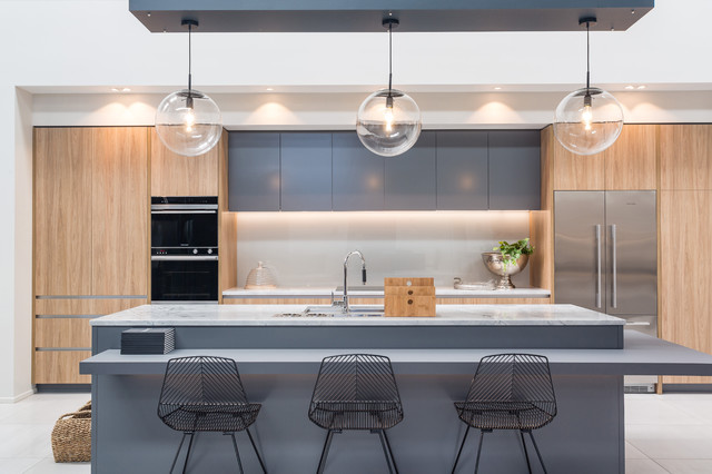 The Master- Class contemporary-kitchen