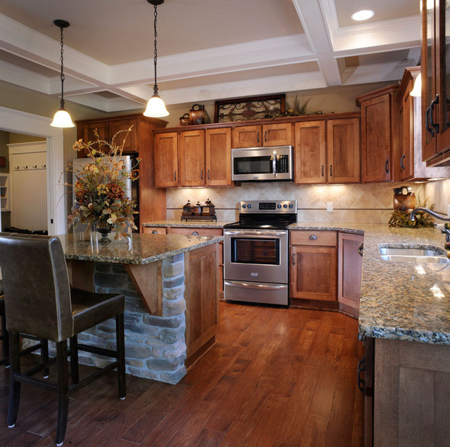 The Meadows ~ Wooster, OH traditional-kitchen