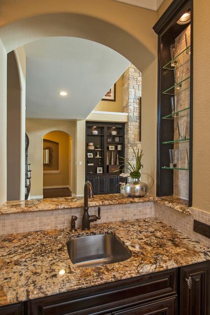 The Murietta Plan at Sienna Plantation - Kennet Hill / The Forest   Houston, TX traditional-kitchen