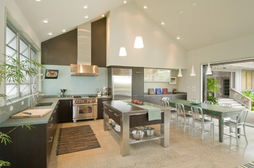 The Neoteric Classic modern kitchen