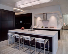 The New American Home contemporary-kitchen