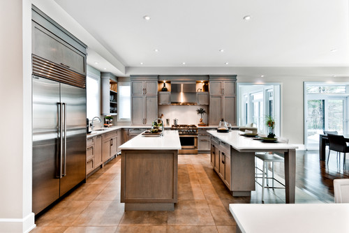 4 pros and cons of double stacked kitchen cabinets for Adding height to kitchen cabinets