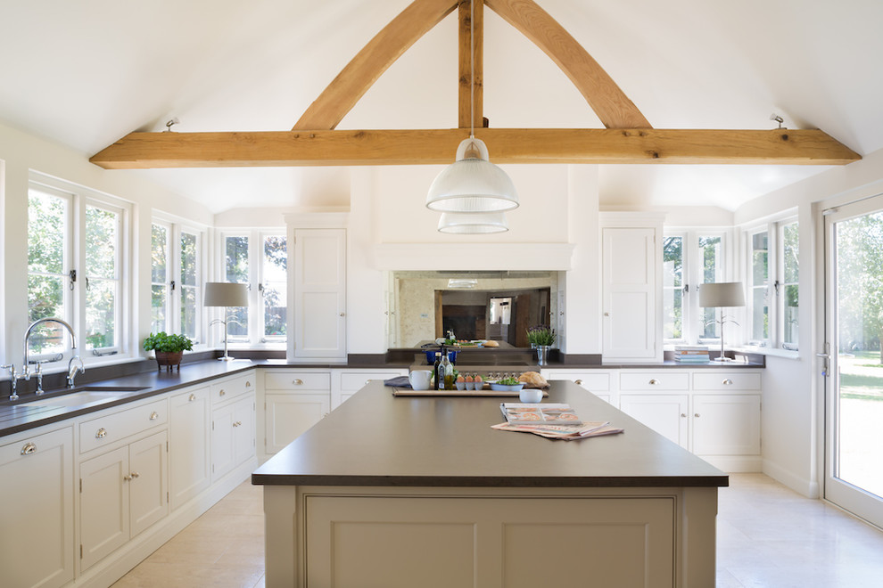 The Old Forge House  Hertfordshire | Classic Painted Shaker Kitchen