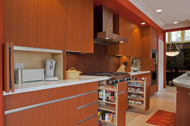 The Organized Kitchen Modern Kitchen San Diego By Hamilton Gray Design Inc
