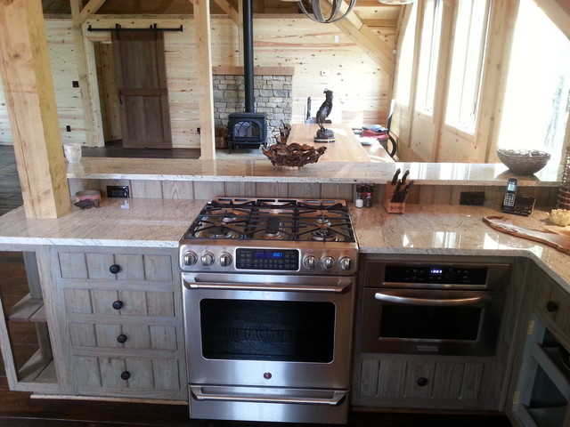 The Party Barn - Helena traditional-kitchen