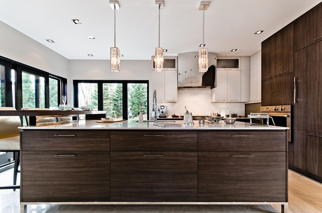 The portobello contemporary kitchen montreal by for Tendance concept cuisine