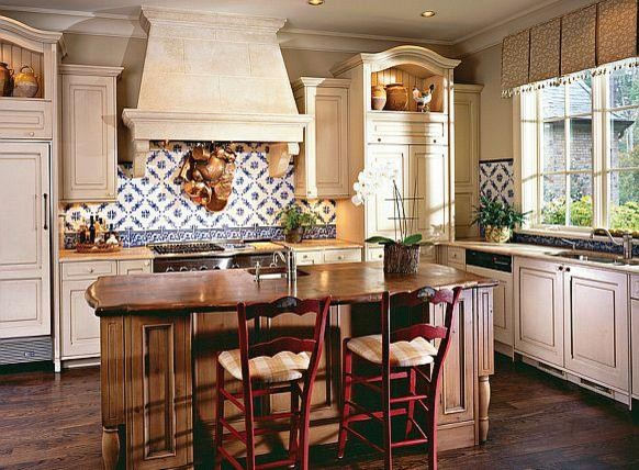 the provence kitchen range hood- francois & co. - kitchen