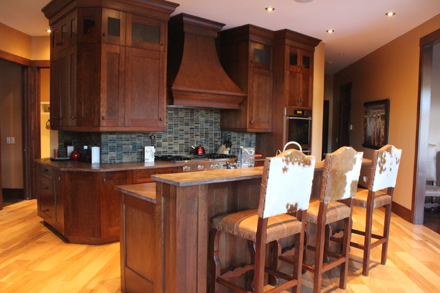 The Ranch traditional-kitchen