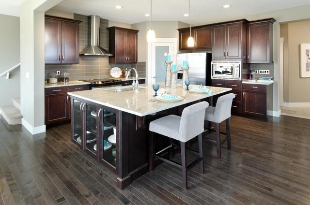 the redford showhome calgary alberta contemporary kitchen
