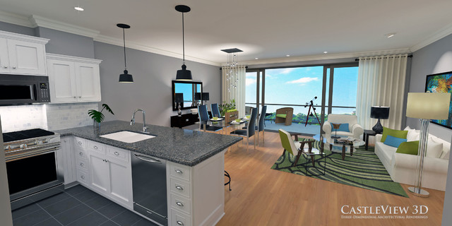The Reserve On The Erie Canal  Loft Condos Small Condo   Kitchen/
