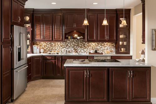 Perfect Cabinets What Is The Door Style And Stain Color